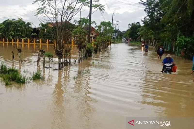 Banjir kembali meluas di Aceh Timur akibat hujan deras
