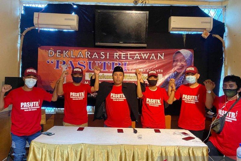 Relawan Pasutri dukung Risma maju di Pilkada DKI 2022