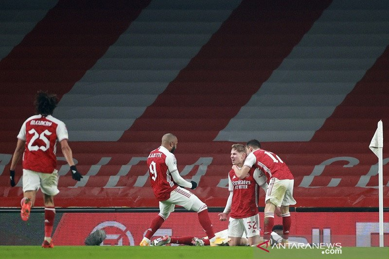 Arsenal susah payah lewati Newcastle di Piala FA