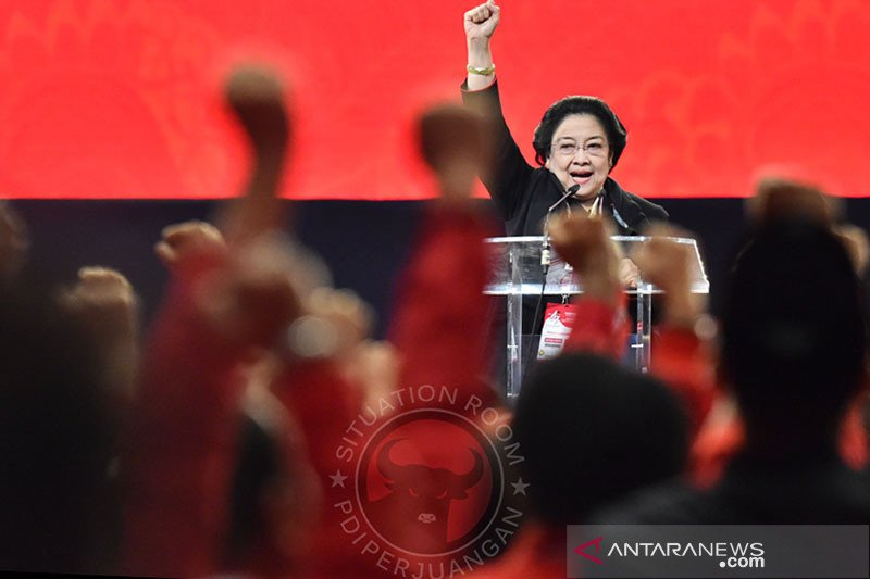 Megawati: Kemenangan elektoral tak berarti tanpa perjuangkan rakyat