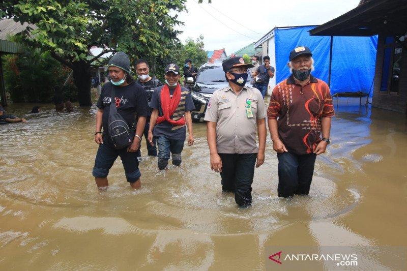 Banjir terjadi di sejumlah wilayah di Kalsel