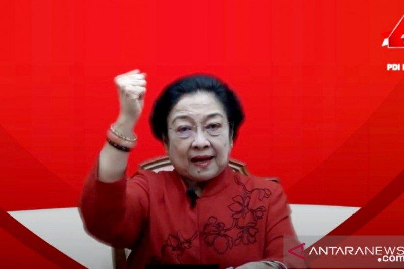 Megawati awali pidato politik dengan sampaikan belasungkawa