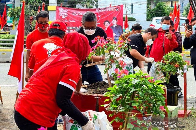 PDI Perjuangan perjuangkan terciptanya Jakarta Bersih