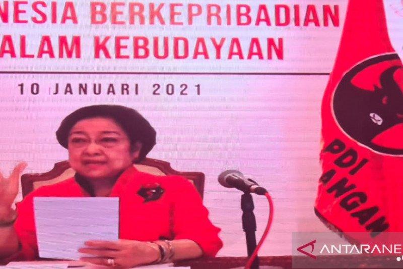 Megawati: RI harus miliki data tunggal yang digunakan semua K/L-Pemda