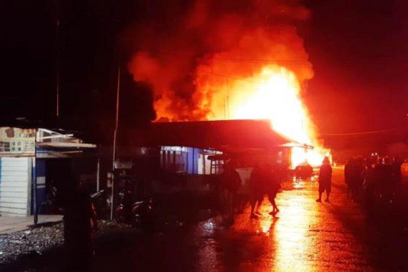 Polisi Yahukimo masih selidiki kasus kebakaran di pasar lama Dekai