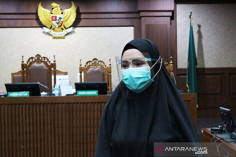 Jaksa Pinangki dituntut 4 tahun penjara