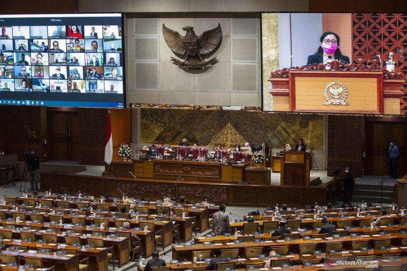 DPR gelar Rapat Paripurna pembukaan Masa Sidang III