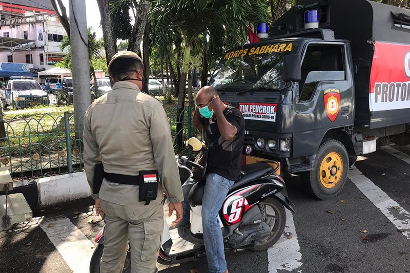 Polda Aceh: 39 pelanggar protokol kesehatan terjaring operasi yustisi