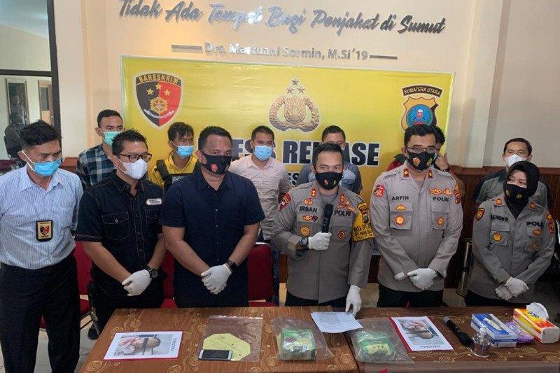 Polisi tembak mati kurir sabu-sabu asal Aceh di Medan