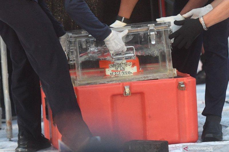 CVR Sriwijaya Air SJ-182 ditemukan