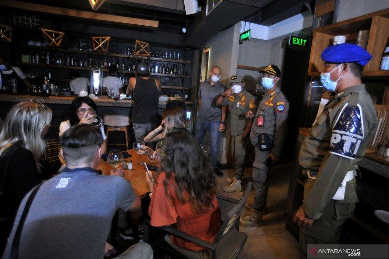 Sidak penerapan  PPKM di Bali