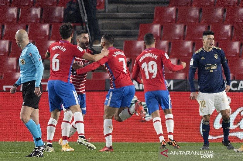 Liga Spanyol – Granada tundukkan Osasuna 2-0