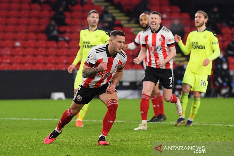 Liga Inggris – Sheffield United akhirnya rasakan kemenangan tundukkan Newcastle 1-0