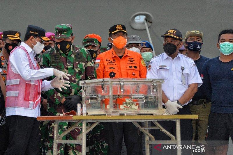 Menhub harapkan kolaborasi tim, cari kotak hitam CVR Sriwijaya Air