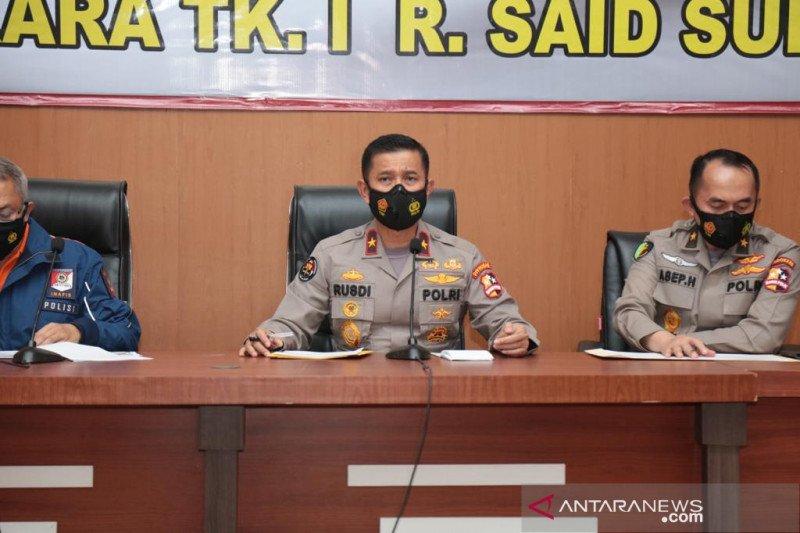 Polri: Empat jenazah korban pesawat Sriwijaya SJ 182 teridentifikasi