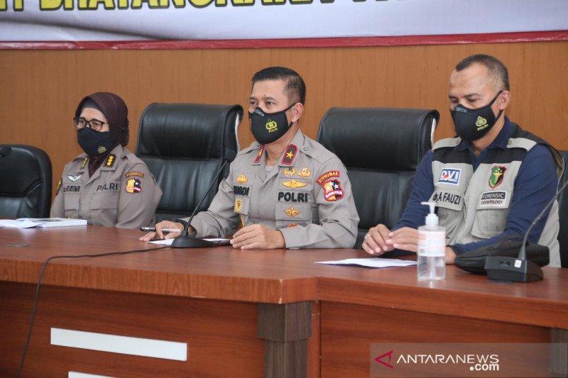 Tim DVI Polri identifikasi 4 jenazah korban Sriwijaya Air