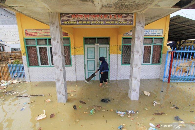 Banjir rob di Indramayu