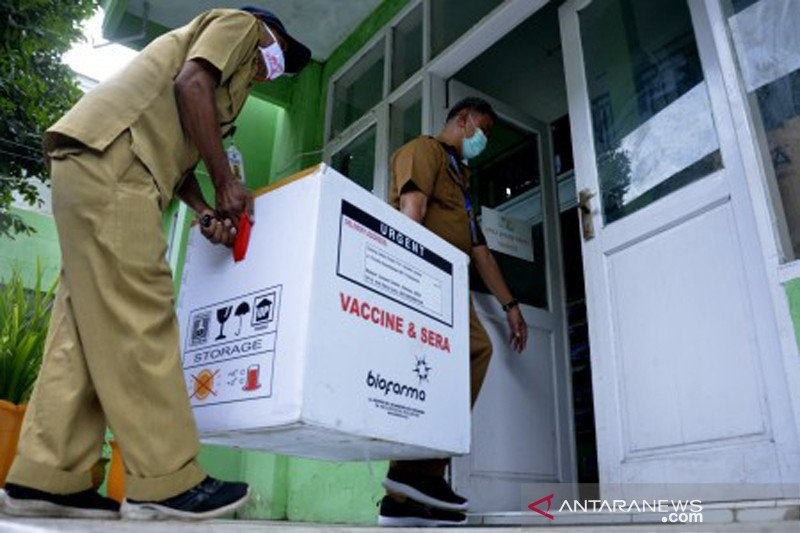 Pendistribusian vaksin COVID-19 di Sulawesi Selatan