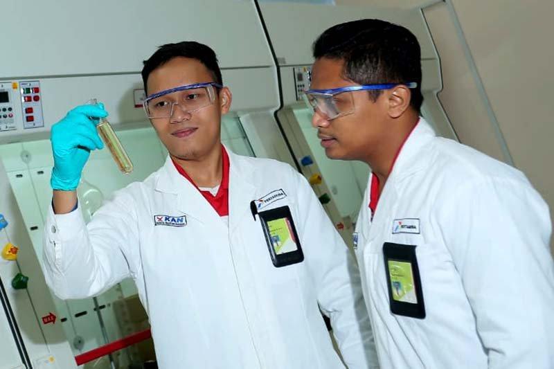 PertaminaRU IV Cilacap uji coba produksi Green Diesel dan Green Avtur