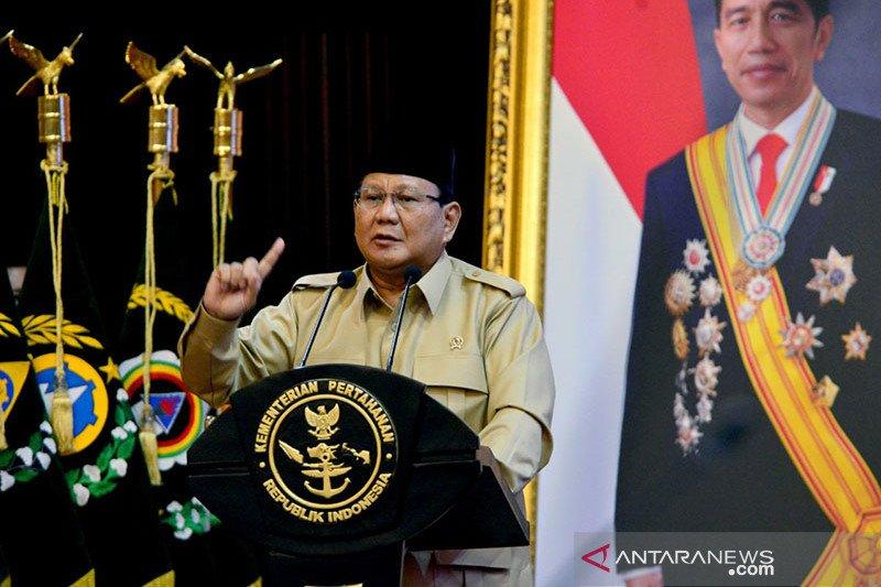 Menhan Prabowo sampaikan 9 kebijakan pertahanan dalam Rapim