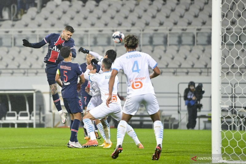 PSG juarai Piala Super Prancis delapan kali berturut-turut