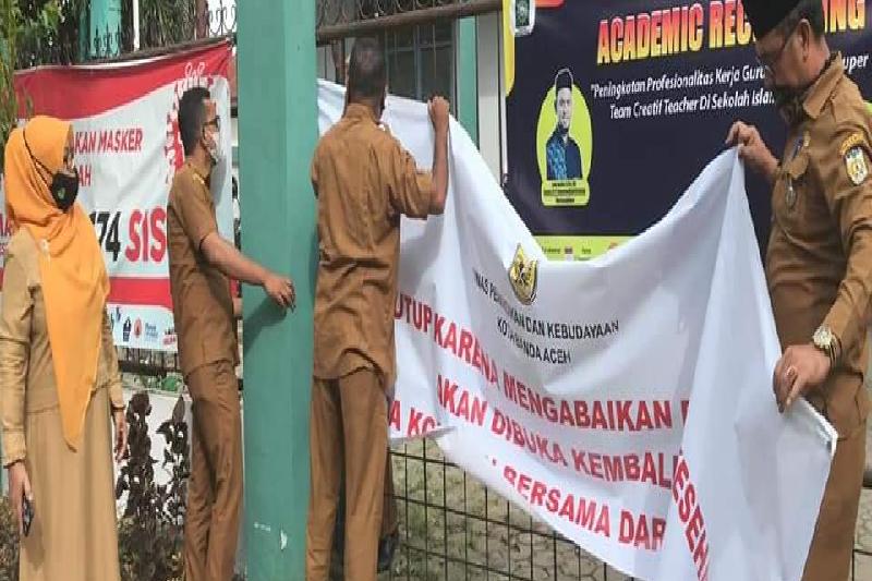 Sekolah di Aceh yang ditutup karena abaikan prokes dibuka kembali