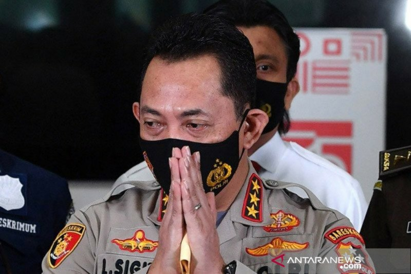 Gubernur Banten dukung Listyo Sigit jadi Kapolri