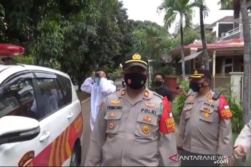 150 polisi bersiaga di rumah duka Syekh Ali Jaber