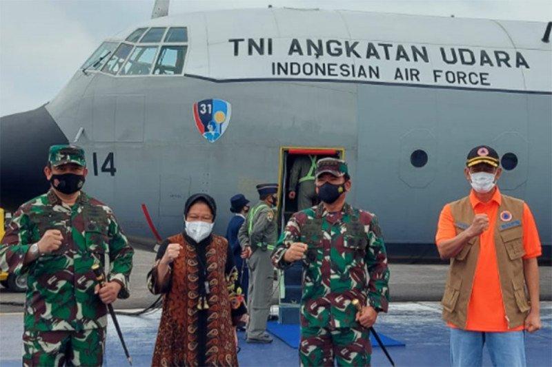 Kepala BNPB-Mensos ke Mamuju kunjungi lokasi gempa Sulawesi Barat