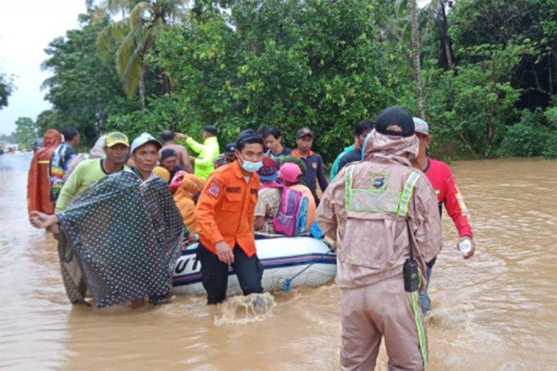 BNPB: 21.990 jiwa terdampak banjir di Kalsel