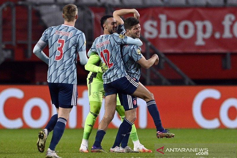 Pecundangi Fortuna Sittard, Ajax kembali perlebar jarak di puncak