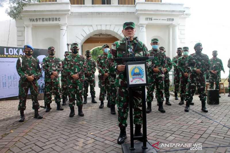TNI AD dirikan Rumkitlap COVID-19 di Benteng Vastenburg Solo