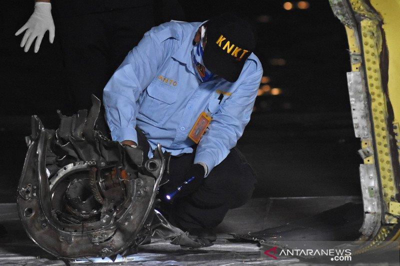 KNKT temukan anomali sistem autothrottle pesawat Sriwijaya Air SJ 182
