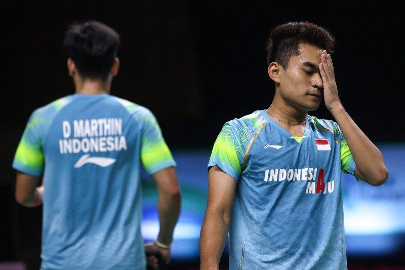 Leo/Daniel tetap bersyukur meski terhenti di semifinal Thailand Open