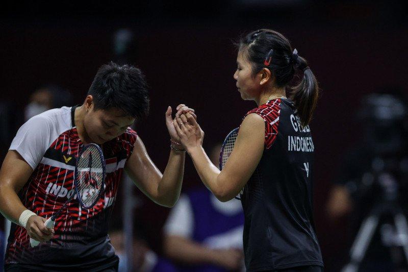 Greysia/Apriyani emosional masuk final Thailand Open