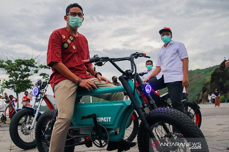 Menparekraf Sandiaga Uno kagumi eksotisnya Lombok