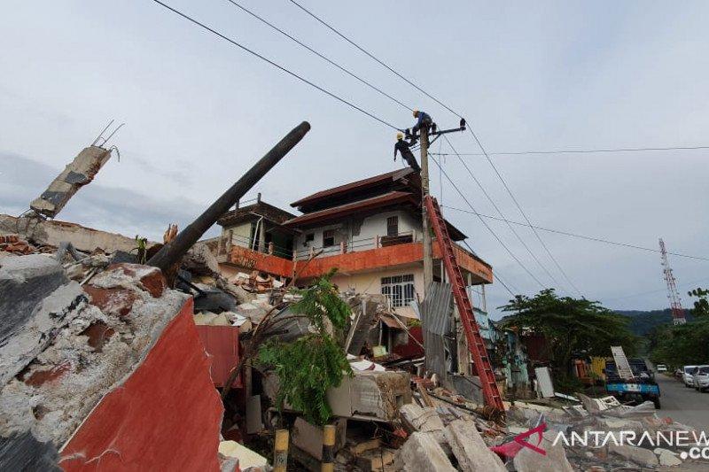 Gerak cepat PLN pulihkan listrik Sulawesi Barat tuai apresiasi