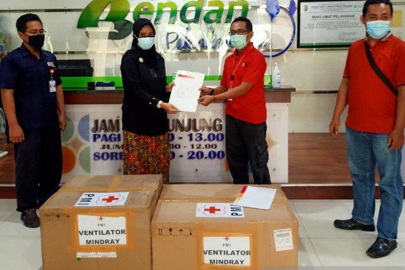 PMI Jateng distribusikan ventilator ke sejumlah rumah sakit rujukan