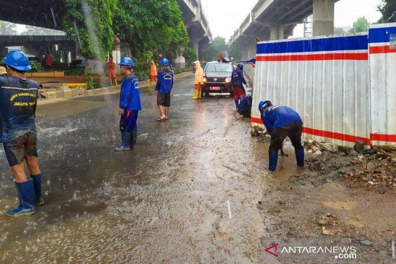 Jaktim habiskan Rp25 miliar untuk proyek penanggulangan banjir 2020