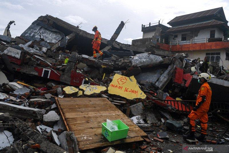 BNPB korban meninggal dunia akibat gempa Sulbar sebanyak 46 jiwa
