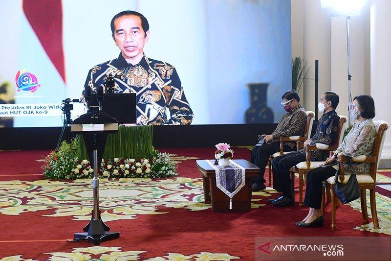 Presiden Jokowi : Pengawasan OJK jangan mandul, harus keluar taringnya