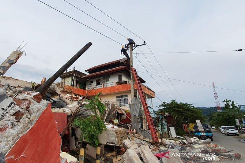 PLN fokus pulihkan listrik RS untuk tangani korban gempa Sulbar