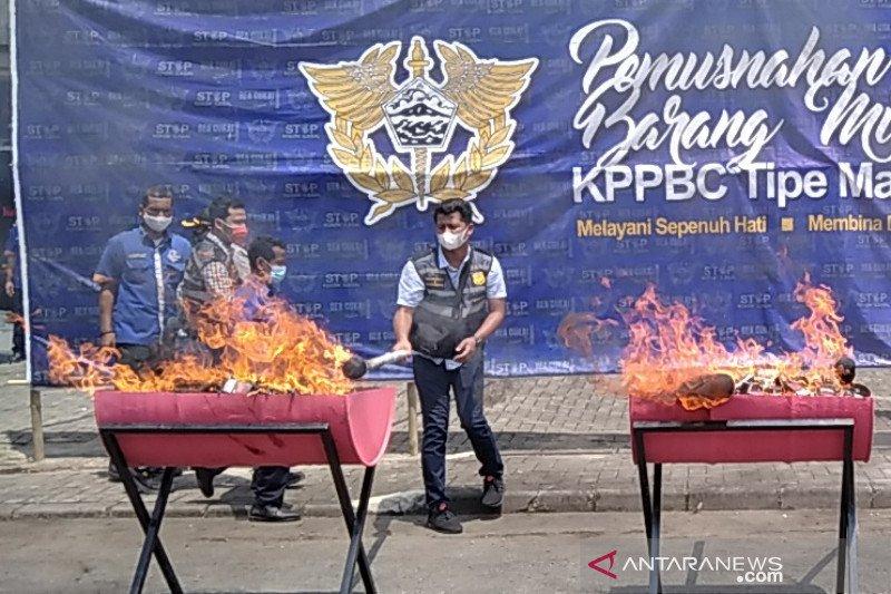 Pengusaha rokok apresiasi ketegasan Bea Cukai berantas rokok ilegal