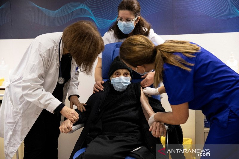 Yunani berencana mulai vaksinasi COVID Johnson & Johnson 5 Mei