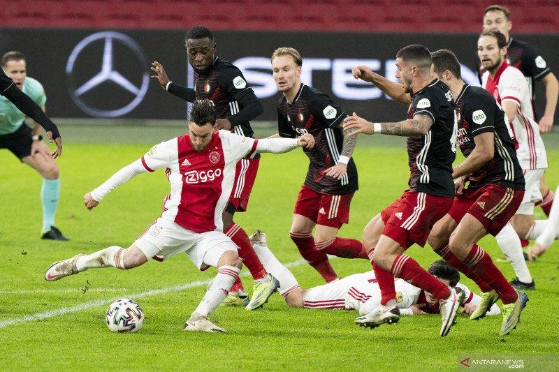 Ajax menang tipis atas Feyenoord dalam derbi De Klassieker