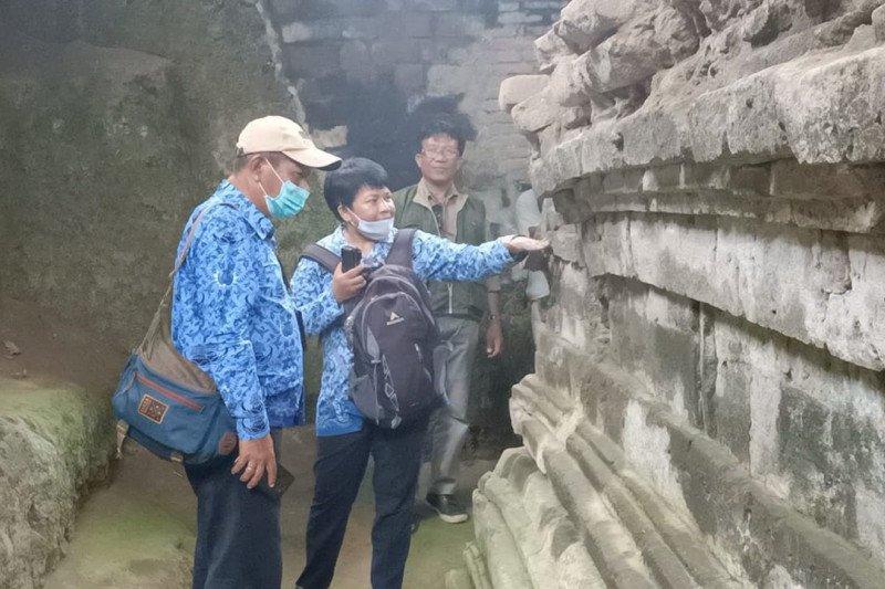 BPCB Jatim observasi temuan arca di Kabupaten Kediri