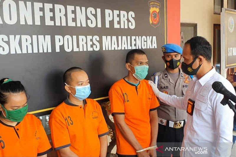 Polres Majalengka tangkap tiga penyalur pekerja migran ilegal