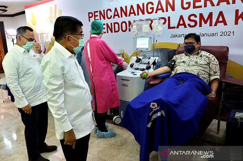 PMI siapkan 31 UDD dukung gerakan nasional donor plasma konvalesen