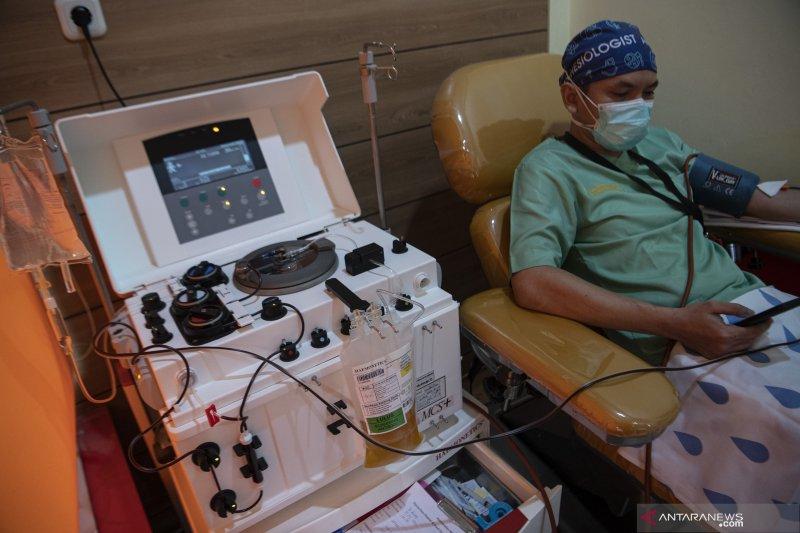 PMI Pekanbaru layani donor plasma konvalesen