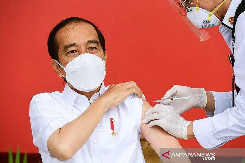 Presiden Jokowi jalani vaksinasi COVID-19 kedua Rabu esok